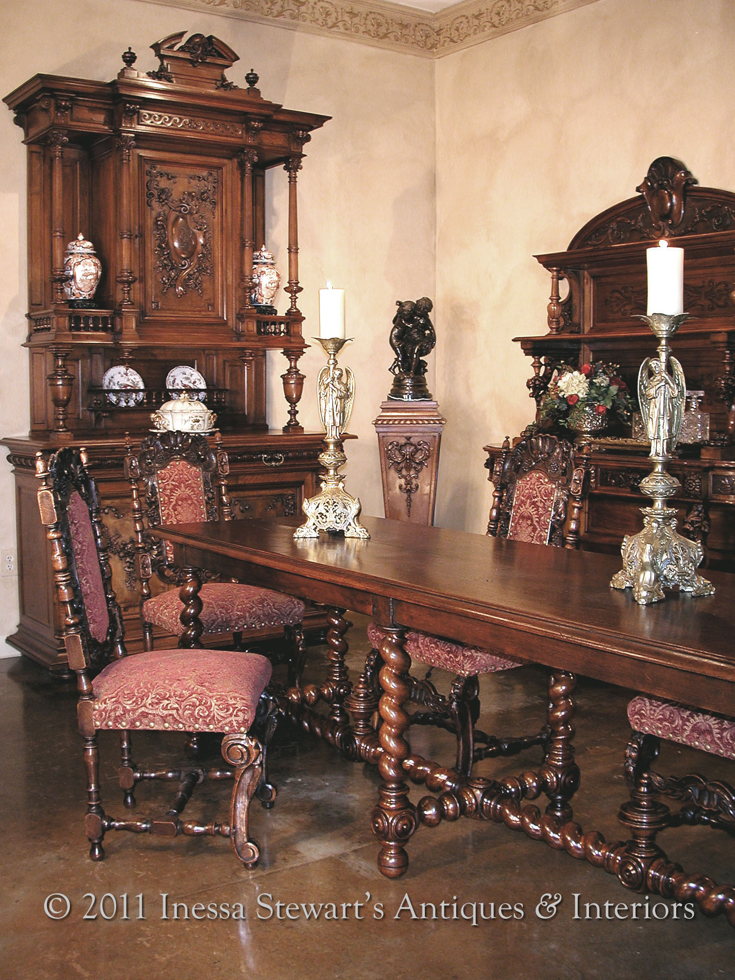 Antique gothic furniture for sale