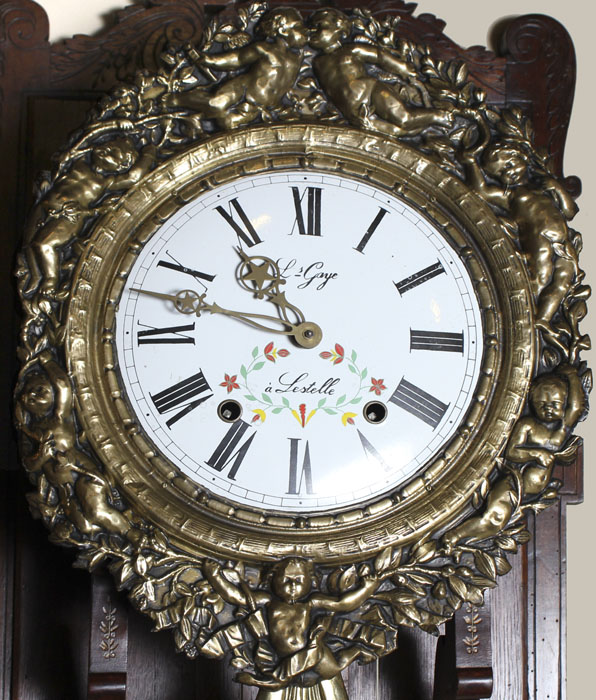 Antique Of The Week Morbier Clocks Antiques In Style