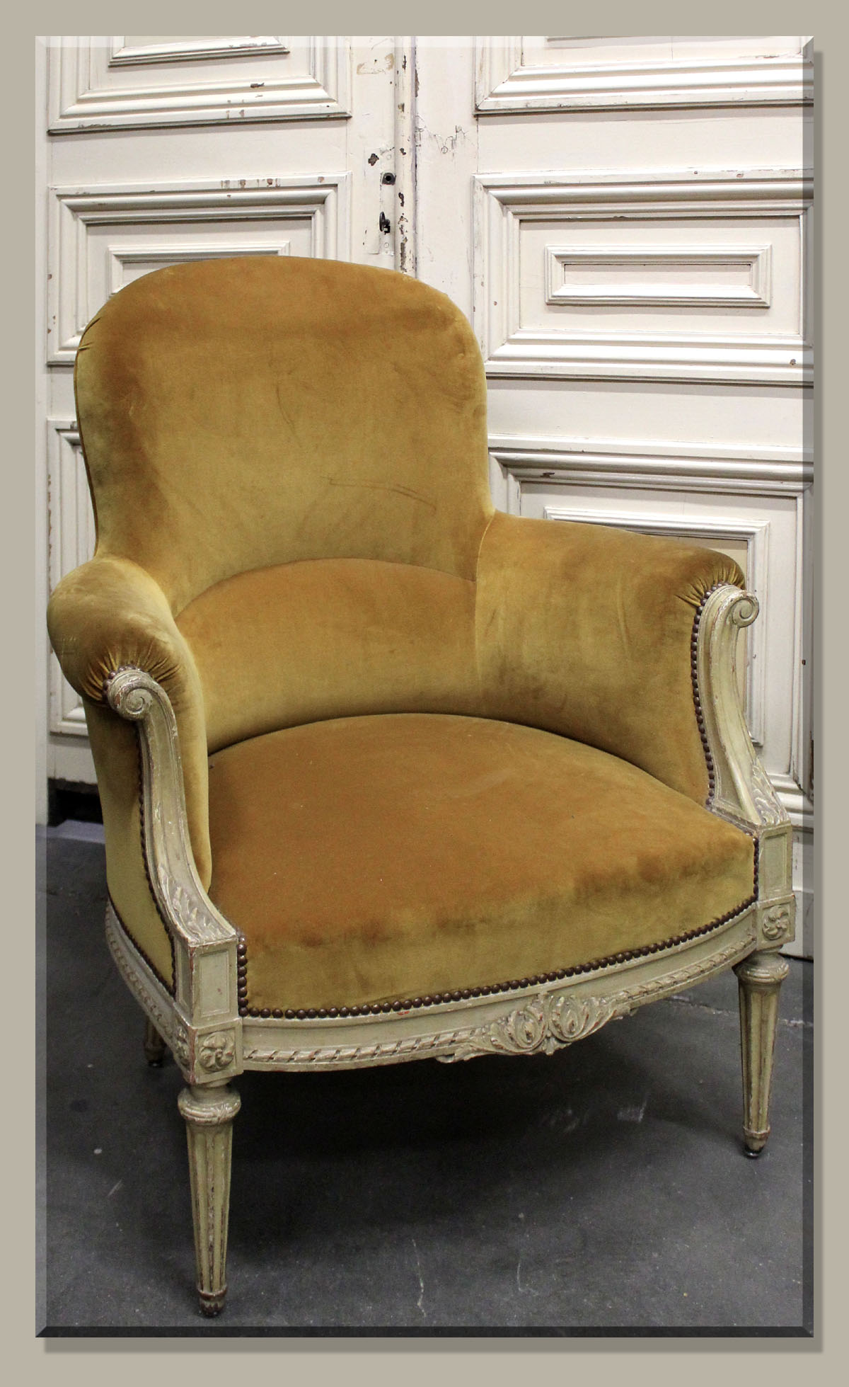 antique french bergere armchairs. Black Bedroom Furniture Sets. Home Design Ideas