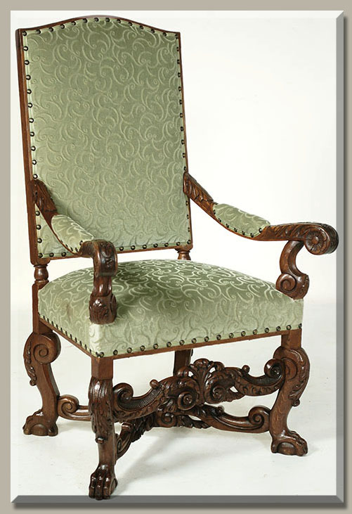 italian baroque furniture characteristics