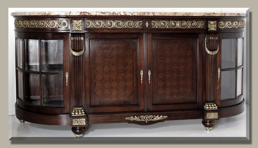 Antique Buffet Louis XIV Style