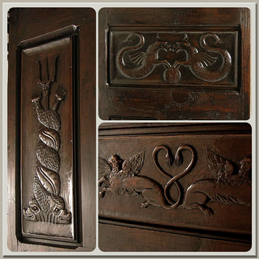 Antique Armoire Collage