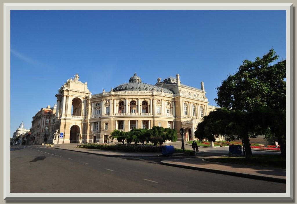 Odessa Ukraine Opera House Present Day