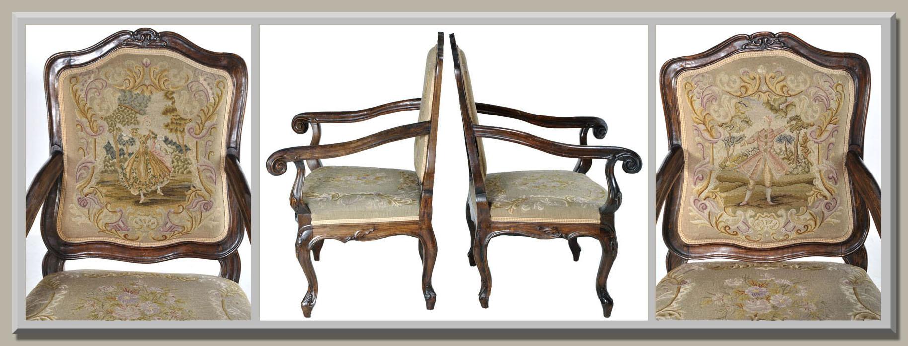 Antique Armchair Details
