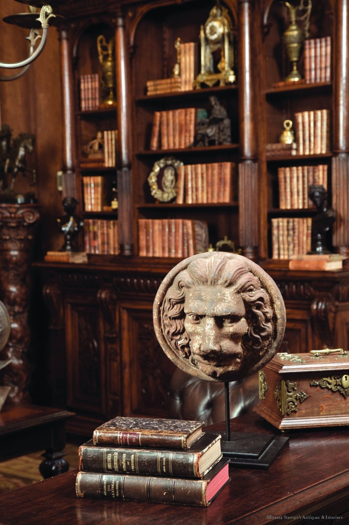 antiques in the library 1