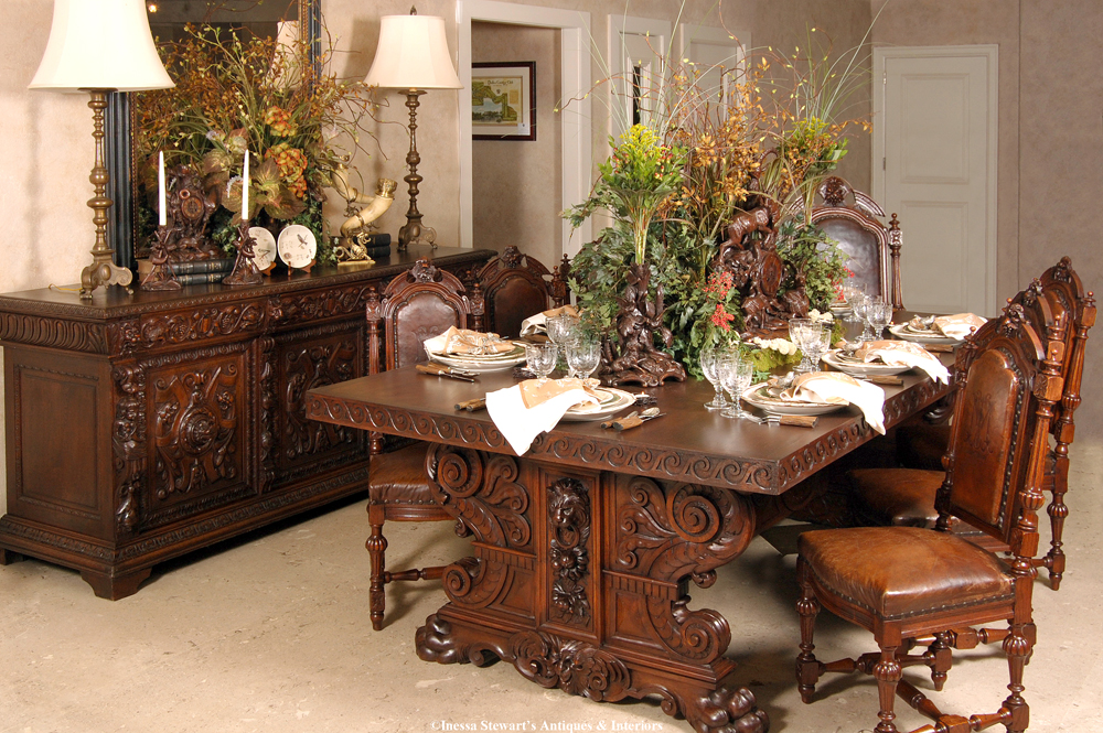 Vintage Dining Room Sets  Luxury Vintage Dining Room - Vintage dining room sets