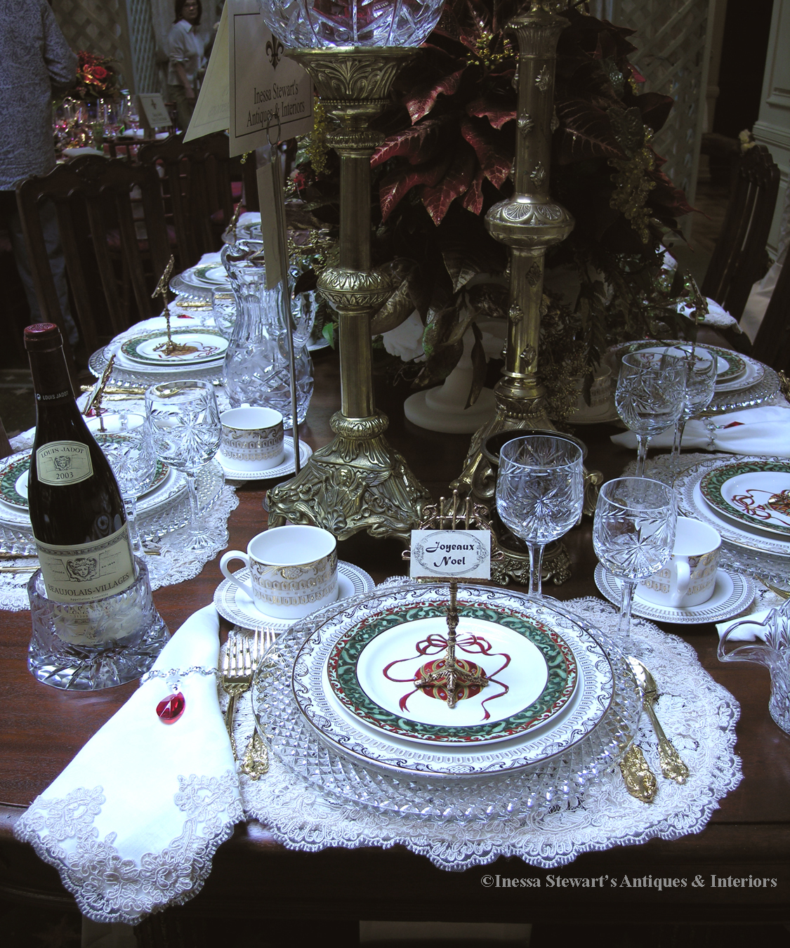 Table Setting In French Antiques In Style Tablescapes Revisited Antiques In Style