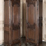 Pair of Antique Normandie Bonnetieres