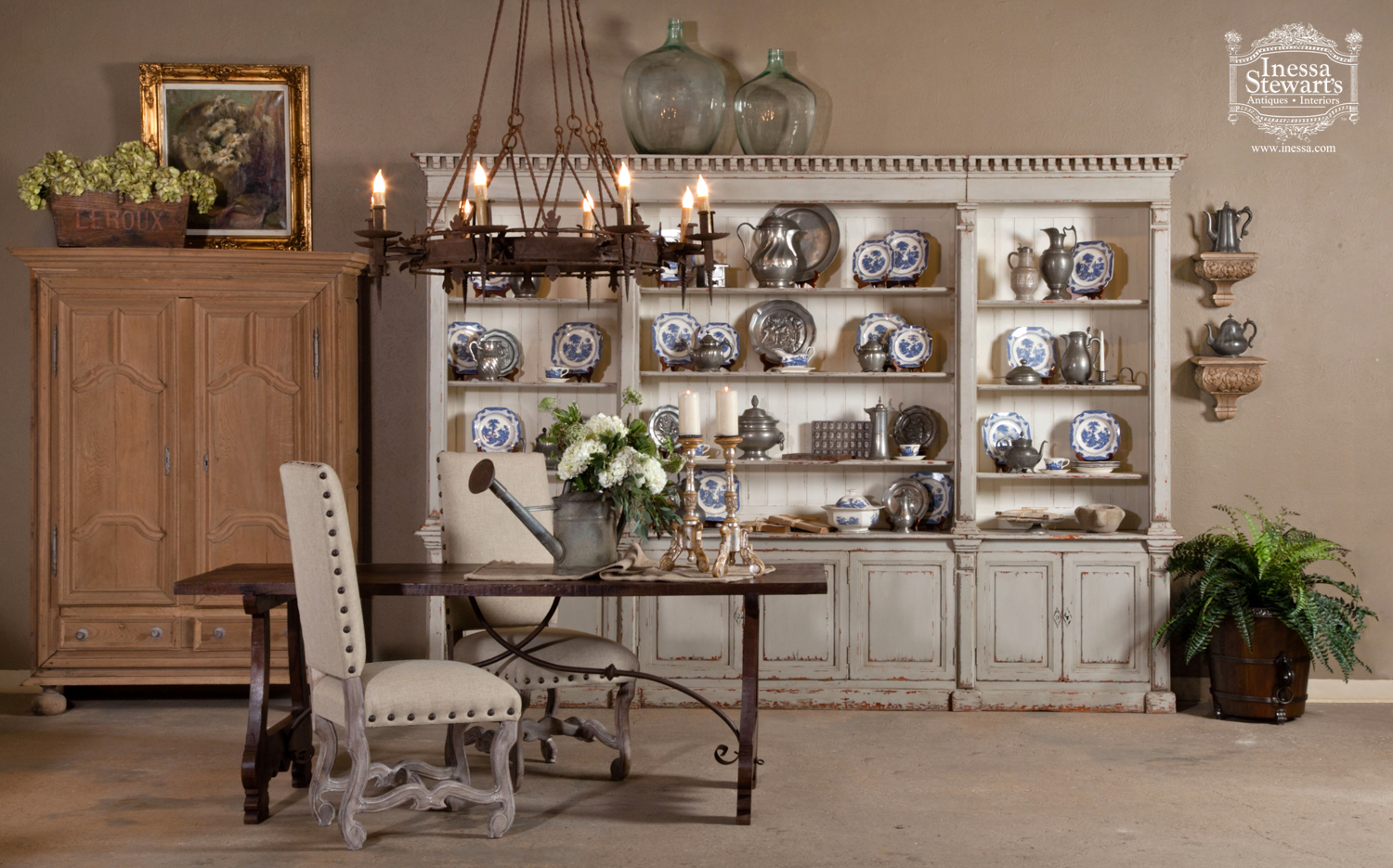 Antiques in Style Beverly Drive Magazine Inessa Stewart's Antiques