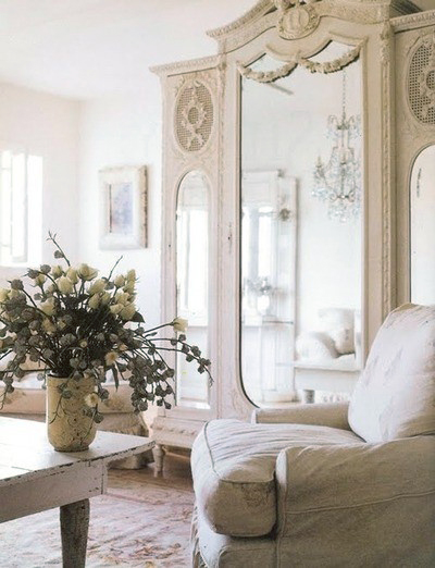 Painted White Antique Delight!