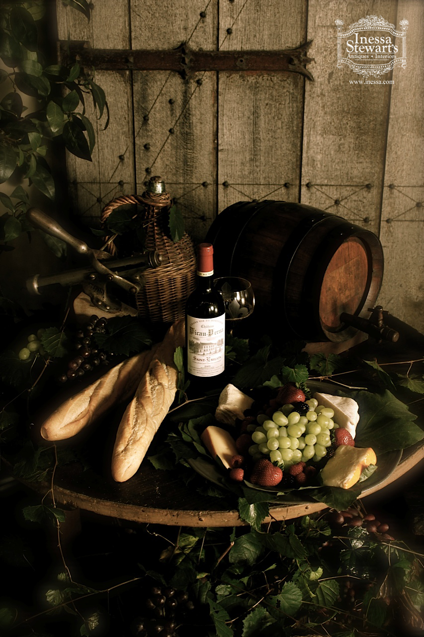 Antique Vineyard Treasures for the Home