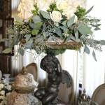 Antique accessoires furniture table setting design