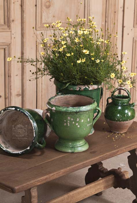 Antique Furniture, Pottery, Flowers
