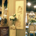 European Antique Store Spring Decor