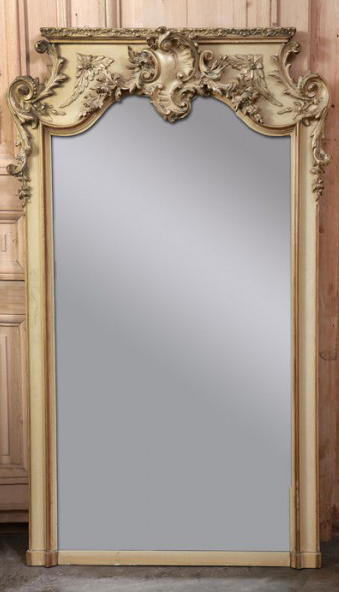 4a3abbca334d antique-french-louis-xv-painted-mirror-1