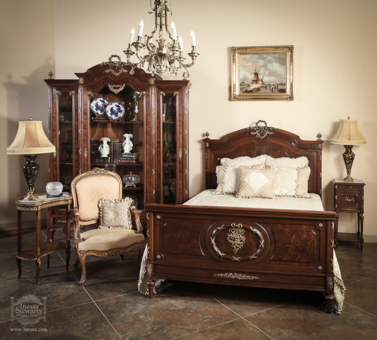 french bedroom sets. Antique Bedroom Set of the Week  French Louis XVI