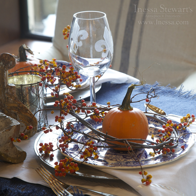 Antique Furniture Table Setting