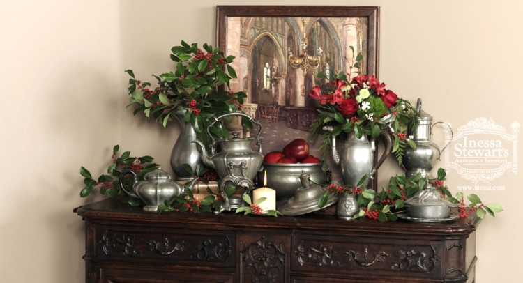 Christmas Display Antique Accessories
