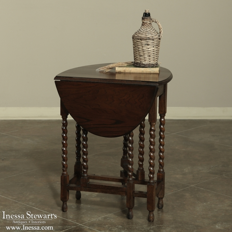 Antique-drop-leaf-gateleg-table-7