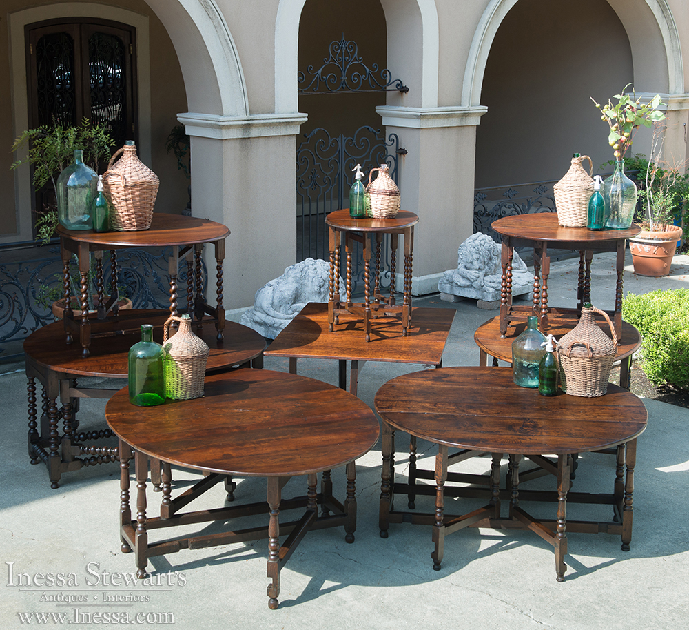 Entertaining With Antiques The Versatile Gateleg Table Antiques - Antique gateleg tables