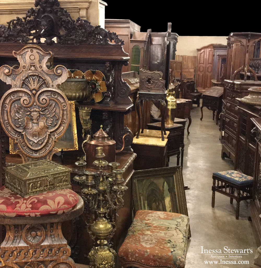 Warehouse Sale Main Shot - Antiques In Style - Antique Furniture Blog