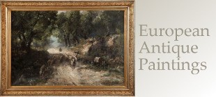 Shop our collection of Antique European Paintings