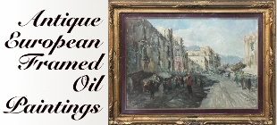 Antique European Oil Paintings