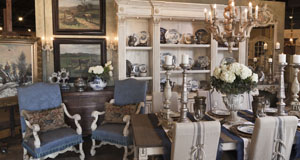 Dallas Antique Store Showroom
